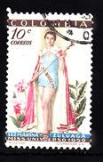 Colombia 1959 Mi Nr 847  Miss Universum - Colombia