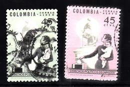 Colombia 1963 Mi Nr 1042 + 1043 - Colombia