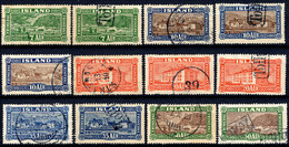 Stamps Iceland 1925 - Used Stamps