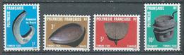 Polynésie Française Timbres-taxe YT N°4/7 Artisanat Neuf ** - Timbres-taxe