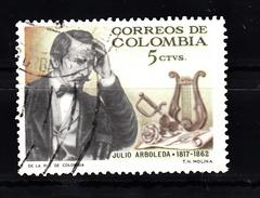 Colombia 1966 Mi Nr 1069 Julio Arboleda - Colombia