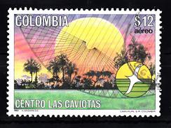 """Colombia 1983 Mi Nr 1611   """"Las Gaviotas"""" - Colombia"""