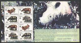 INDONESIA - MNH - Animals - Wild Animals - WWF - Stamps