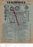 69- VILLEFRANCHE SUR RHONE- PUBLICITE VERMOREL- PIECES RECHANGE SOUFREUSE BLUETTE-IMPRIMERIE LAMARSALLE - Agricoltura