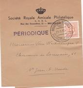 10 Cent Heraldische Leeuw Met Speciale Stempel Brussel Postzegeltentoonstelling 21-3-58 - Entiers Postaux