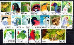PALAU,1991,BIRDS,definitive, 18v.MNH** - Oiseaux