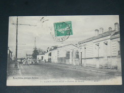 BORDEAUX / SAINT  AUGUSTIN   1907   ENTREE DU BOURG    CIRC  EDIT - Bordeaux