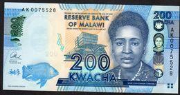 MALAWI  : 200 Kwacha - 2016 - UNC - Malawi