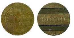 01846 GETTONE TOKEN FICHA JETON ARGENTINA TELEPHONE TOKEN 365 - Fichas Y Medallas