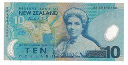 New Zealand, 10 Dollars,  F. Polymer Note. See Scan. - Nueva Zelandía