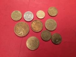LOT DE 10 PIÈCES VOIR LE SCAN - Kiloware - Münzen