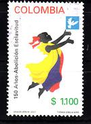 Colombia 2001 Mi Nr 2168  Afschafing Van De Slavernij - Colombia