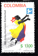 Colombia 2001 Mi Nr 2168  Afschafing Van De Slavernij  -2 - Colombia