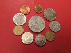 LOT DE 10 PIÈCES VOIR LE SCAN - Coins & Banknotes