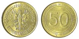 02074 GETTONE TOKEN FICHA JETON KANTINE DISCO CLUB POSEMUCKEL HAMBURG 1979 50 PFG - Allemagne