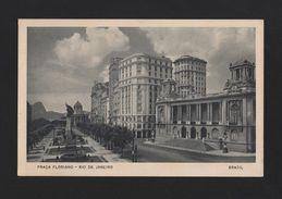 RIO DE JANEIRO Postcard 1940 Year PRAÇA FLORIANA BRAZIL BRASIL - Postcards
