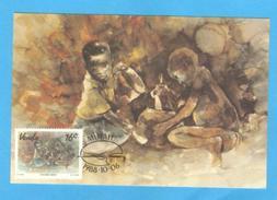 MAXIMUM CARD MAXICARD AFRICA VENDA FETCHING WATER - Stamps