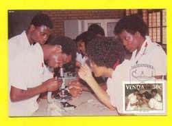 MAXIMUM CARD AFRICA AFRIQUE AFRIKA VENDA NURSE MEDICINE MEDICAL - Stamps