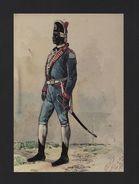 BRAZIL ART POSTCARD BLACK SOLDIER PORTUGAL ARMY In VILA DA RAINHA BRASIL BRÉSIL - Postcards