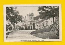 POSTCARD & Stamp TRANSVAAL SOUTH AFRICA PHILIPHAUGH HOUSE SELKIRK - Postcards