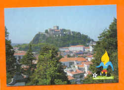 POSTCARD PORTUGAL LEIRIA CASTLE FORT & SOCCER EURO 2004 FOOTBALL CALCIO FUTBOL - Postcards
