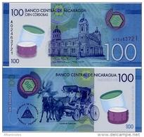 NICARAGUA       100 Cordobas       P-213       L. 26.3.2014 (2015)       UNC - Nicaragua