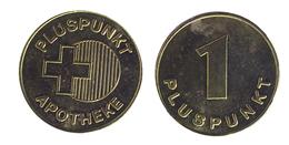 00323 GETTONE TOKEN FICHA JETON ADVERTISING VENDING APOTHEKE TOKEN 1 PLUSPUNKT - Allemagne