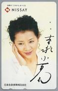 JP.- Japan, Telefoonkaart. Telecarte Japon. NISSAY - Personen
