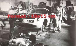 Reproduction D'une Photographie D'une BMW 507 Raymond Loewy De Pichon-Parat En 1957 - Reproductions