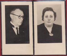 Georgette Coolen Francois Van Cutsem Ongeval Vliegtuigongeval Gentbrugge 1953 Doodsprentje Image Mortuaire Bidprentje - Devotion Images