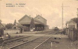 Messancy - La Gare (animée, Train, H. Chansay) - Messancy