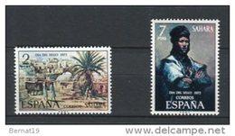 Sahara 1973. Edifil 312-13 ** MNH. - Sahara Spagnolo
