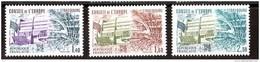 1981 - Timbres De Service N° 65 à 67 - Neufs ** - Conseil De L'Europe - Palais De L'Europe à Strasbourg - Neufs