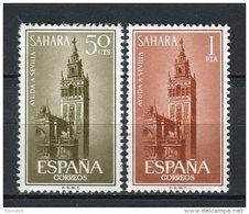 Sahara 1963. Edifil 215-16 ** MNH. - Sahara Spagnolo