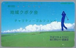 JP.- Japan, Telefoonkaart. Telecarte Japon. GOLF - Sport