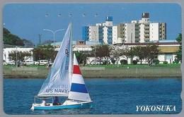 JP.- Japan, Telefoonkaart. Telecarte Japon. YOKOSUKA. US NAVY. - Telefoonkaarten