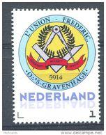 103 PAYS BAS (Nederland) - Masonic Franc Maconnerie 100 Ans Loge .. Gravenhage - Neuf ** Sans Charniere MNH Personnalise - Franc-Maçonnerie