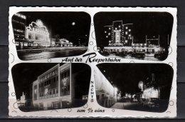 1957Hamburg - Reeperbahn - Auf Der Reeperbahn Nachts Un 1/2 Nachts - Gelaufen Postcard - Altona