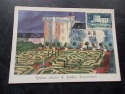 FRANCE (1954) CHATEAU DE VILLANDRY - Maximum Cards