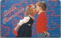 JP.- Japan, Telefoonkaart. Telecarte Japon. LITTLE ROMANCE. KINDEREN. KUS - Personen
