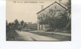 CPA - SAINT-CYBARDEAUX - La Gare  - Edition M.P.A  -  Non Circulée  - N°64 - France