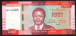 LIBERIA : 50 Dollars - 2016 - UNC - Liberia