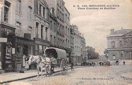 BOULOGNE SUR MER - Place Godefroy De Bouillon - état - Boulogne Sur Mer