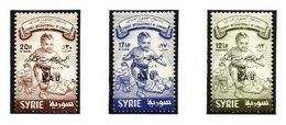 SYRIA, Yv 113, Av. 150/51, ** MNH, F/VF, Cat. € 195 - Syria