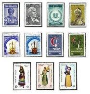 SYRIA, Yv Av. 210/11, 213, 219/20, 221/26, ** MNH, F/VF, Cat. € 9 - Syrie
