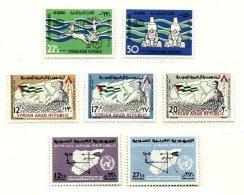 SYRIA, Yv 191/95, Av. 261/62, ** MNH, F/VF - Syrie