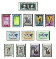 SYRIA, Yv 196/99, Av. 263/69, 273/74, ** MNH, F/VF, Cat. € 9 - Syria
