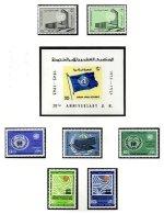SYRIA, Yv Av. 285/86, 289, 295/96, 299/300, Bk. 21, ** MNH, F/VF - Syrie