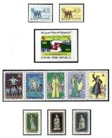 SYRIA, Yv Av. 356/65, Bk. 25, ** MNH, F/VF, Cat. € 9 - Syrie