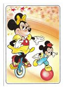 WALT DISNEY : Minnie Fait Du Vélo – Série D 550 N° 4/4 - Fumetti